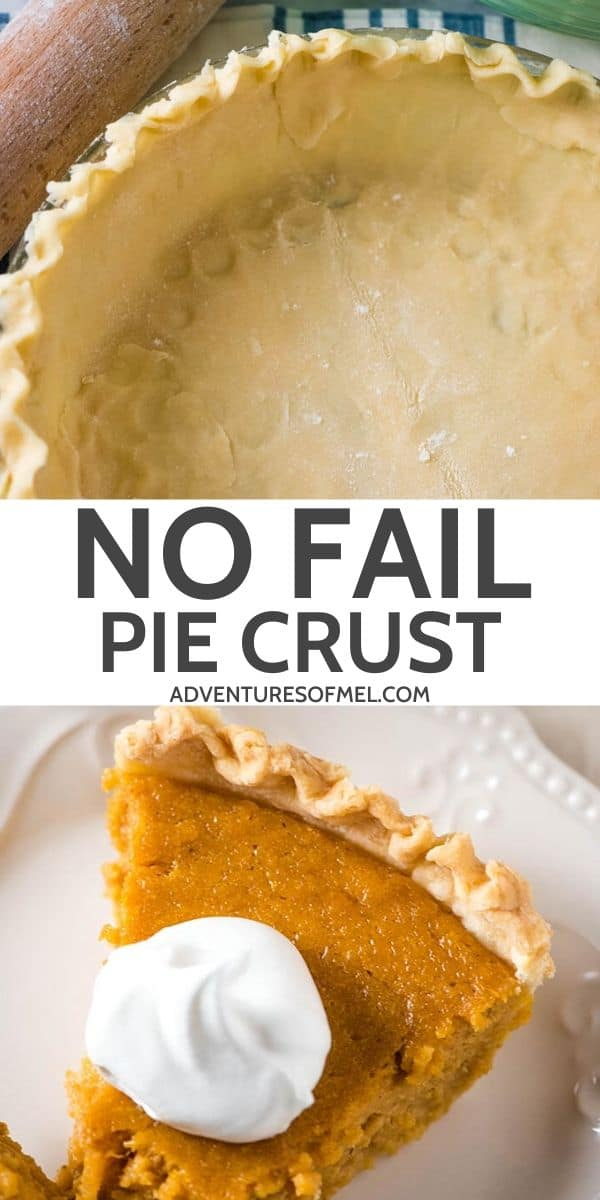 no fail pie crust recipe with butter