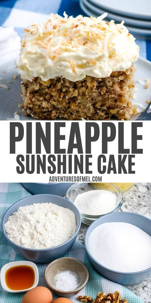 pineapple sunshine cake recipe