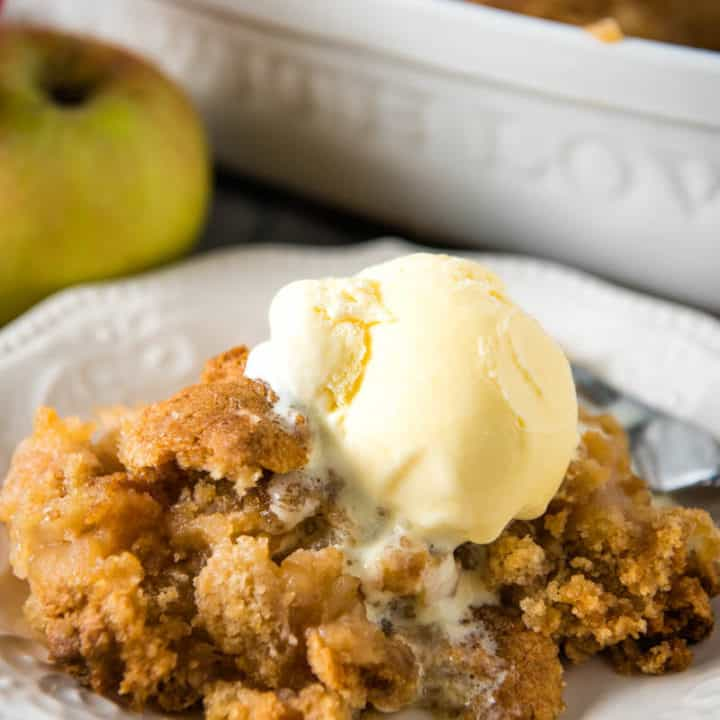 Easy Apple Crumble without Oats